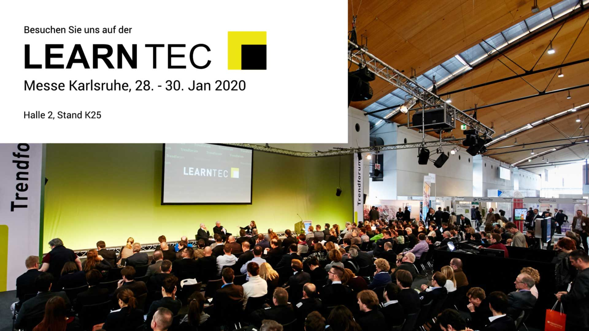 Learntec 2020 - Halle 2, Stand K25